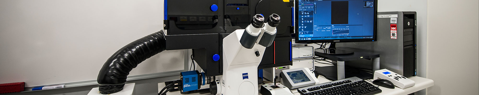 Zeiss Axio Observer (Airlock) microscope